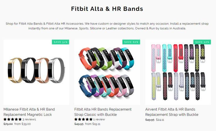 Fitbit Alta Bands & Fitbit Alta HR Bands Australia