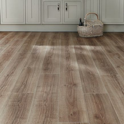 Click Fit Oak vinyl flooring
