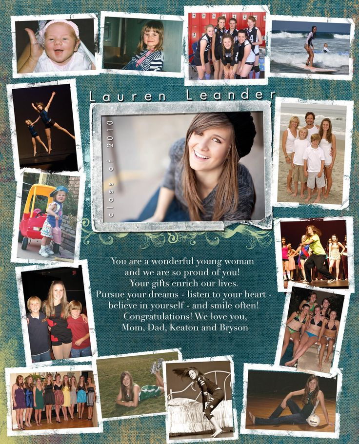 Custom Senior Pages » Kacey Luvi Creative Productions class photo with choral speech