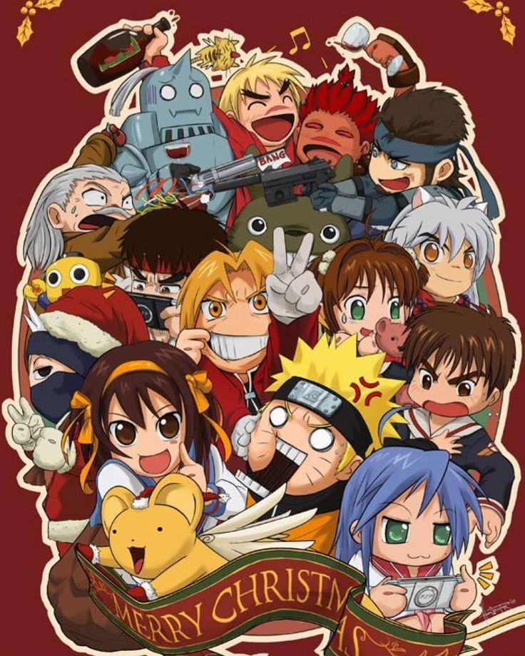 Pin de Mel em Crossover Anime