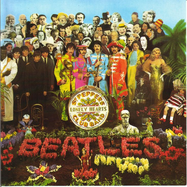 Remember this one? Beatles and the classic Sgt Peppers Lonely Heart Club Band.