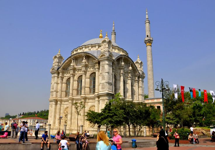 Ortaköy Mosque is located in a cozy Bosphorus village. The baroque style mosque provides a great view of Bosphorus from its broad windows.