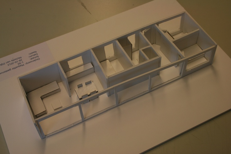 2e jaar woonboot project  CIBAP interieur opleiding Zwolle