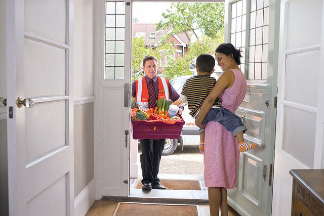 Online Grocery Delivery Driver by J Sainsbury, via Flickr