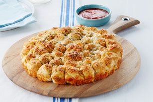 Parmesan-Garlic Monkey Bread Recipe - Kraft Recipes