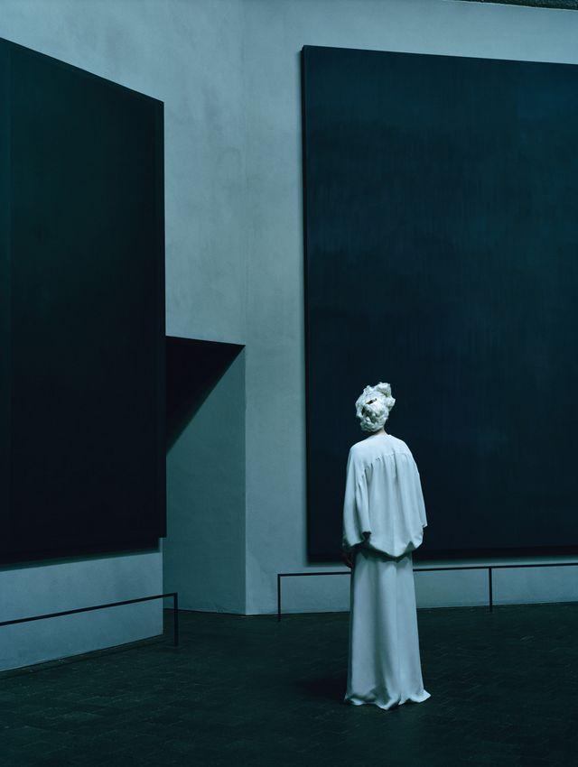 Rothko Chapel, Tilda Swinton by Tim Walker