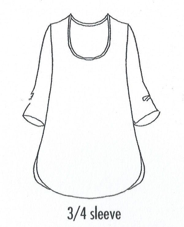 Soft tunic Sketch
