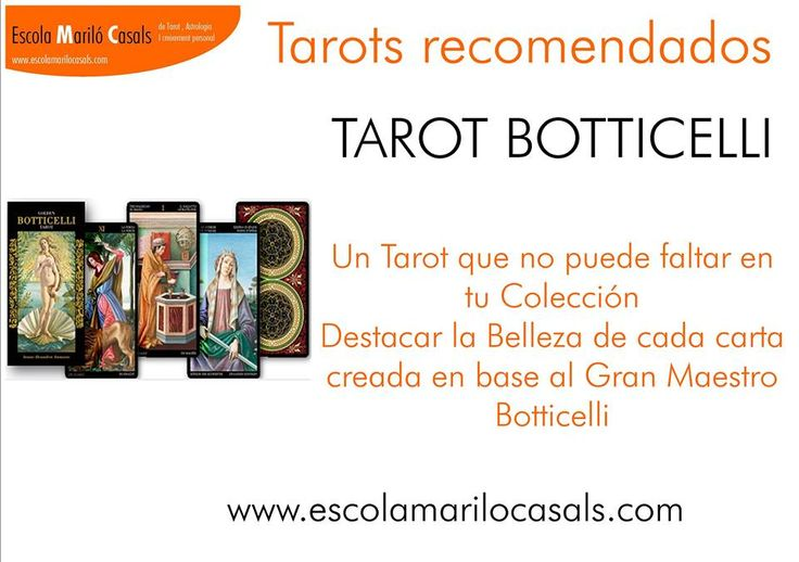 Un tarot clásico y de inspiración rimántica #Tarot #boticcelli #barajas #naipes recomendación #intuición