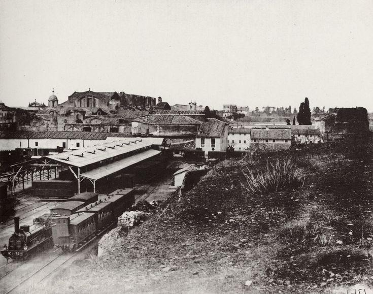 """La """"prima"""" Stazione Ferroviaria di Termini .."""