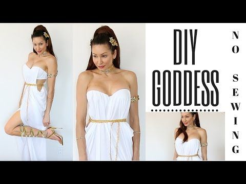 Best 25 diy toga ideas on pinterest toga costume toga costume wn diy greek goddess costume l hair accessories no sew toga solutioingenieria Gallery