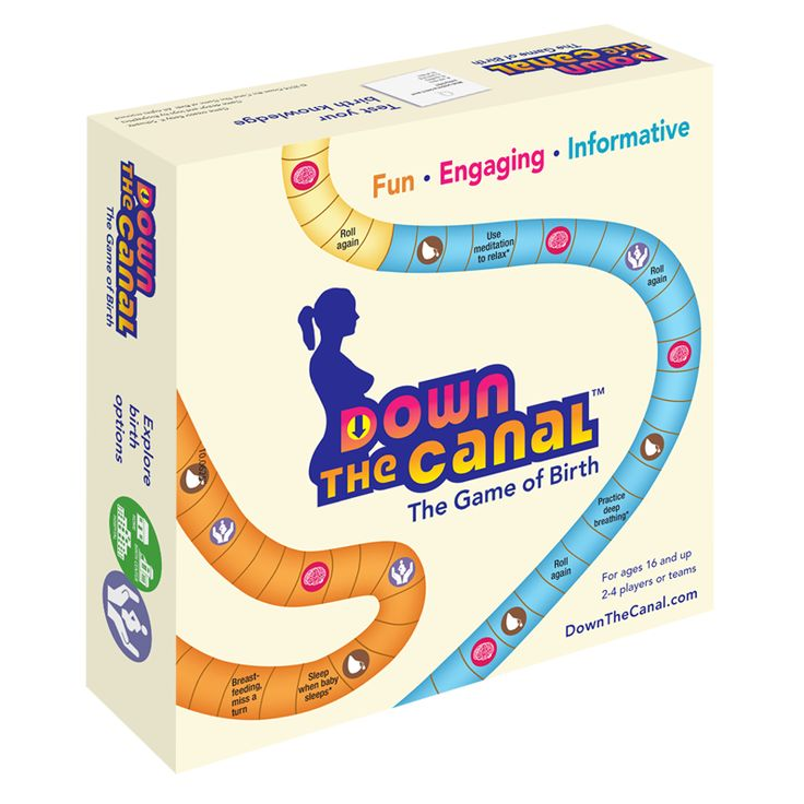 Down the Canal the Game of Birth 3D Game Box