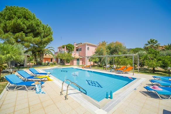 Villa Finikas, Acharavi, Corfu, Greece. Find more at www.villaplus.com
