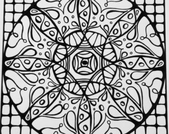 Mindfulness Coloring Pages Pdf : Best sacred geometry images mandala coloring