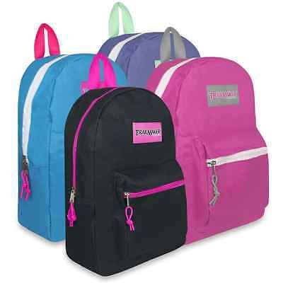 Lot of 24 Wholesale Backpacks for Charities, Donations, Giveaways