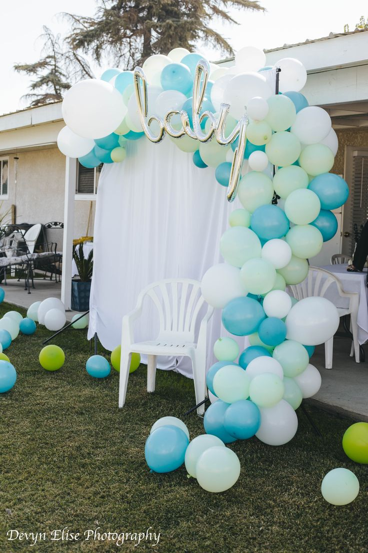 Baby Shower Balloon Arch Baby Shower Balloons Baby Shower Balloon Arch Outdoor Baby Shower