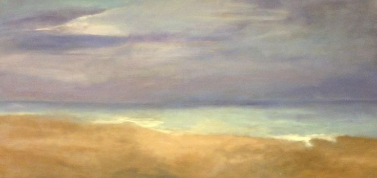 """""""End of Day"""" Oil on Canvas - 24"""" x 48"""" - SOLD"""