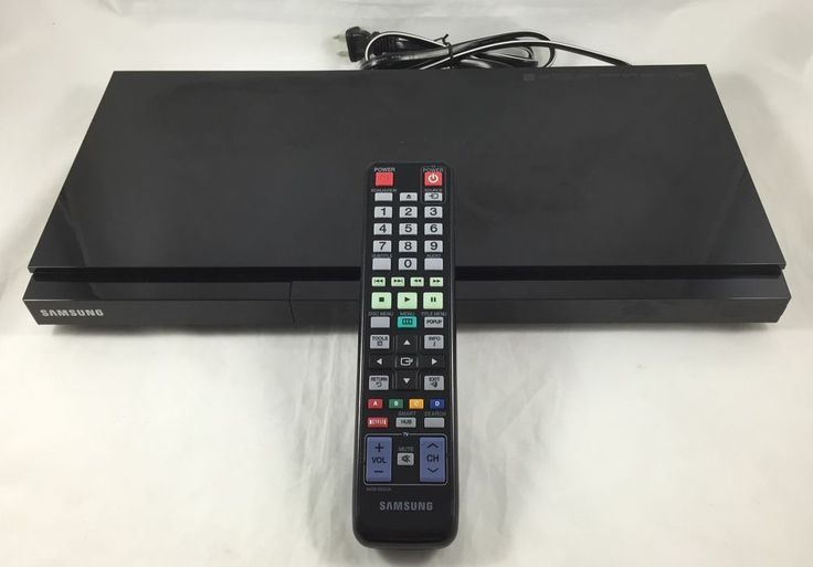 Samsung BD-D5700 Blu-Ray Player Built In WiFi HD Audio Smart TV With Remote #Samsung