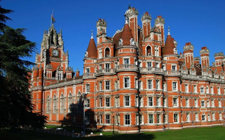 Part of the University of London – indeed, probably the only capital-based university that can merit a spot on this list – Royal Holloway in Surrey is dominated by an elaborate red-brick building modelled on the Château de Chambord in France. The building was originally home to a women-only college, and sits within 136 acres of woodland.  Picture: Alamy