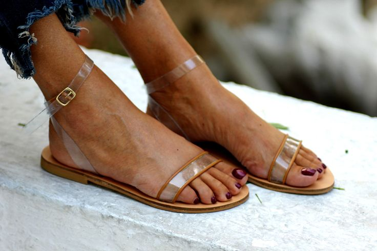 A pair of sandals made for those who love to walk barefoot, as it feels and looks like no wearing shoes at all. Made from PVC ankle straps and vegetable tanned vachetta leather, the Barefoot sandal will be one of the most comfortable shoes to wear this summer.