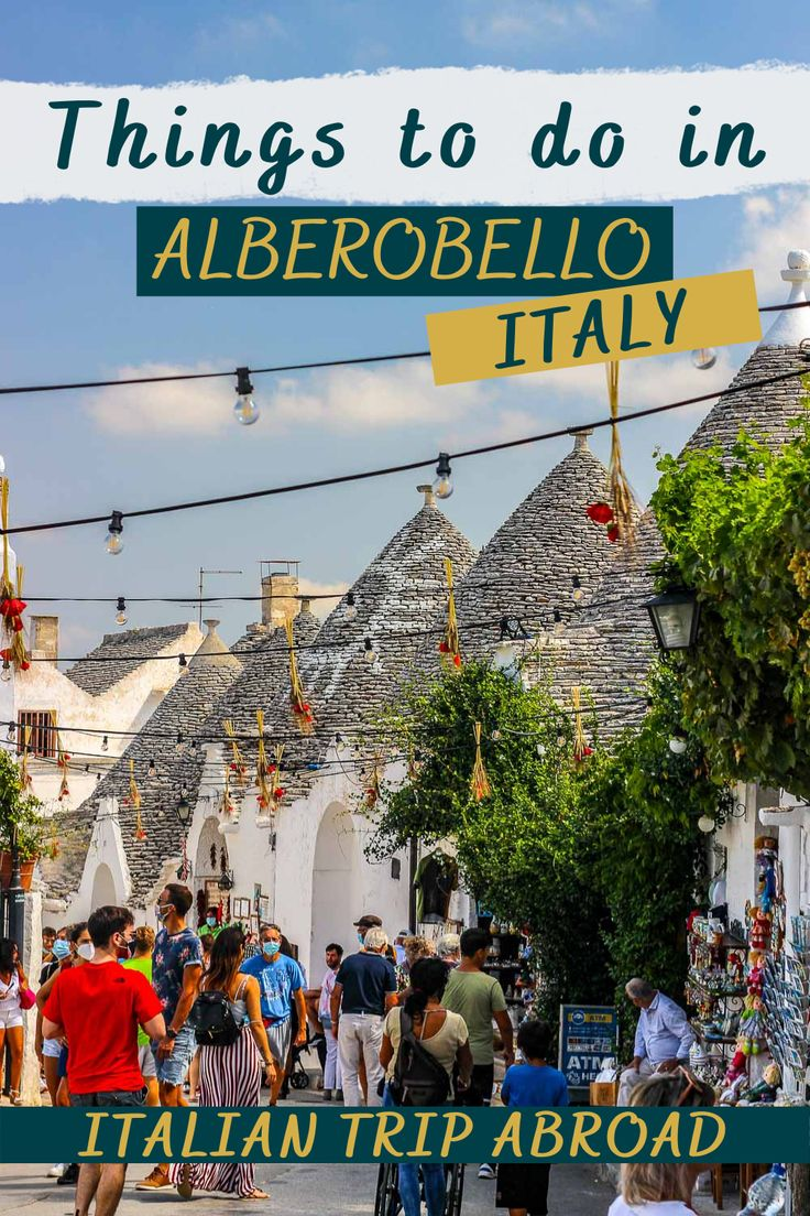 Things to do in Alberobello Italy
