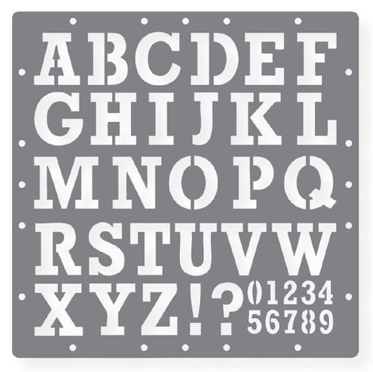 17 Best images about stencils on Pinterest   Printable alphabet ...