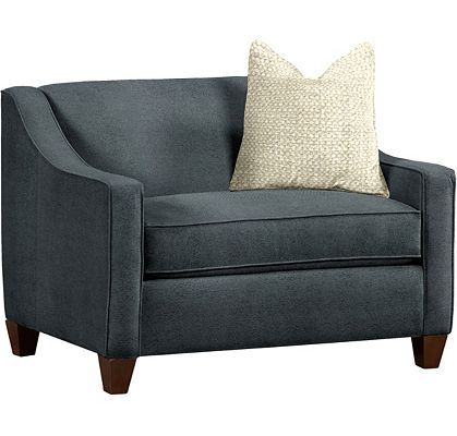 Living Rooms Benny Twin Sleeper Chair 800 Thunder
