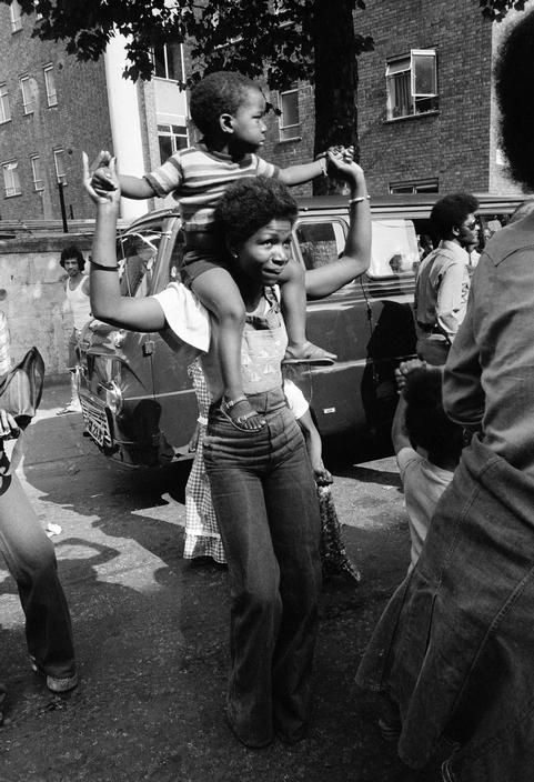 On the streets, London, England, 1973, photograph byChris Steele-Perkins.