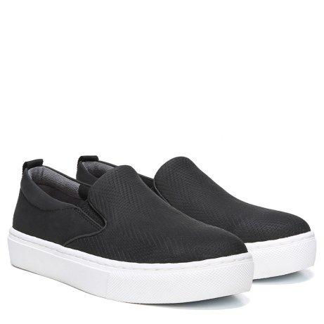 0632b357e33d Dr. Scholl s No Bad Days Slip On Sneaker Black Embossed size 10.0 M