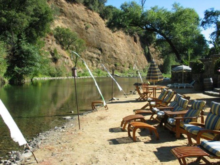 Riverfront Private Estate In The Sierras Northern California Would Make Such A Fun Wedding