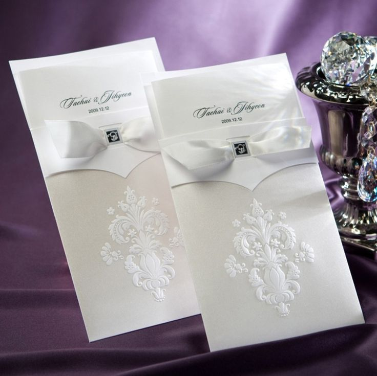 how to write muslim wedding invitation card%0A de bolsillo barato invitaciones de boda moderna decoraci  n con Blanca Flor  de lis  ver las invitaciones de boda  decorar Barunson Detalles del  producto de