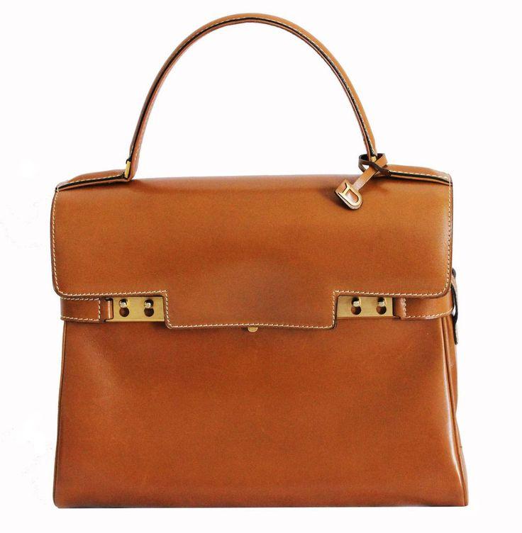 Stunning Vintage Delvaux Tempête Handbag – Katheleys for ...