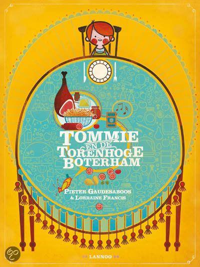 bol.com | Tommie en de torenhoge boterham, Pieter Gaudesaboos | 9789020979879 | Boeken...