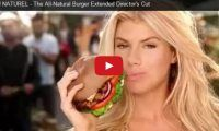 AU NATUREL – The All-Natural Burger Extended Director's Cut Check out model Charlotte McKinney, (who they keep saying is the next Kate Upton), going au naturel in this Super Bowl ad for the fast-food burger joint, Carl's Jr., that has received over 2.5M views already….