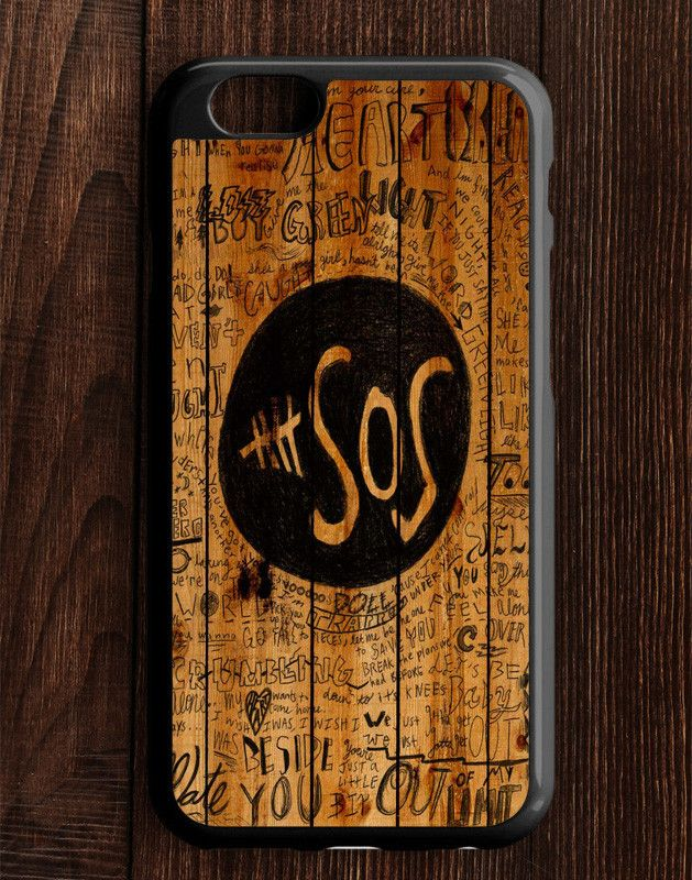 5 Second Of Summer Fans Quotes On Wood iPhone 6 | 6S Case