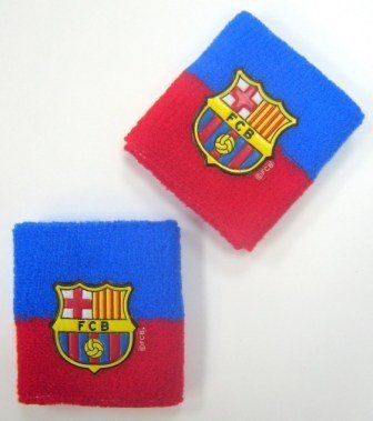 Official Licensed GENUINE FC Barcelona Pair of 2 Sweat Bands Wristband - Licensed FC Barcelona Merchandise by F.C. Barcelona. $14.99. IMPORTANT CHRISTMAS SHIPPING NOTICE!! - if ordered AFTER Dec. 5th, we CANNOT guarantee arrival by Christmas Eve (although the closer it is to the 5th, chances are it will arrive) - Reason is that US postal mail Volume is extremely heavy, which may prolong the delivery.. FC Barcelona sweatbands - pair of 2. Licensed FC Barcelona Merchandise.. FC...
