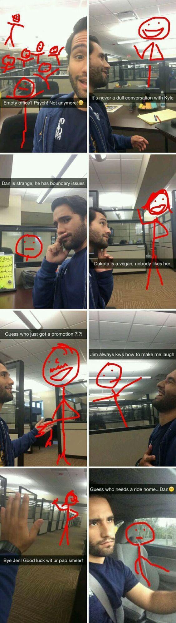 Super Bored At Work Meme