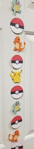 Pokemon Go! Party Streamer/Garland