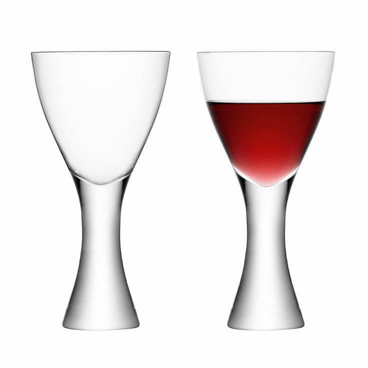 ELINA WINE GOBLETS - SET OF 2 | Blown Wine Glass | UncommonGoods