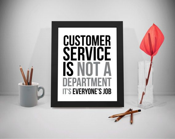 Customer Service Printable Quotes Business Sayings Service