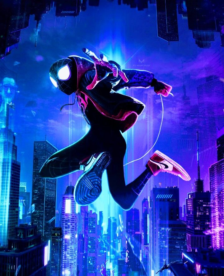 Miles Morales Ultimate SpiderMan, Into the SpiderVerse
