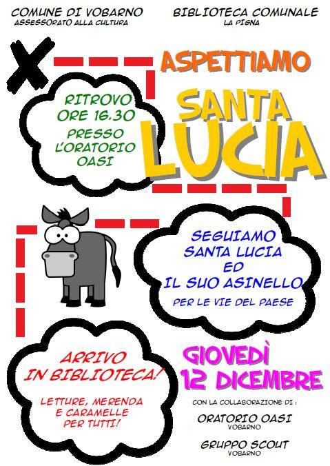 Aspettiamo Santa Lucia a Vobarno http://www.panesalamina.com/2013/19446-aspettiamo-santa-lucia-a-vobarno-2.html