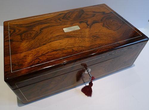 Antique English Rosewood Writing Slope / Lap Desk c.1835 - William IV - 19 Best Antique Travel/Lap Desk Images On Pinterest Lap Desk