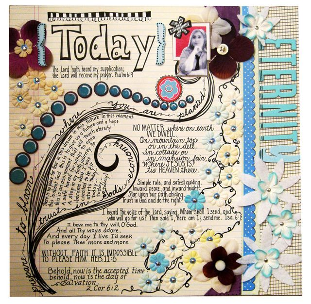 Neat scrapbook page journaling pinterest scrapbooking ideas awesome and journal pages - Scrapbooking idees pages ...