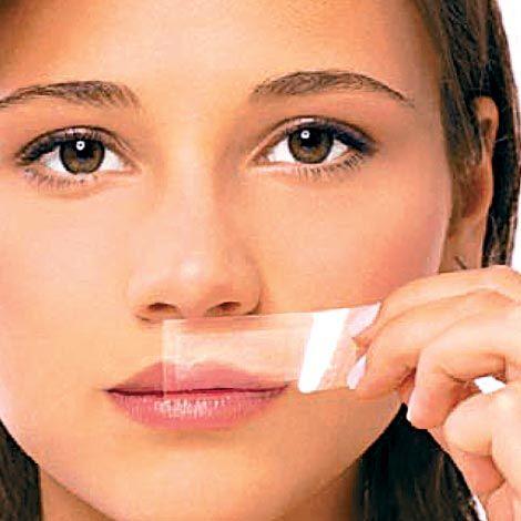 Hair Off Facial Wax Strips 116