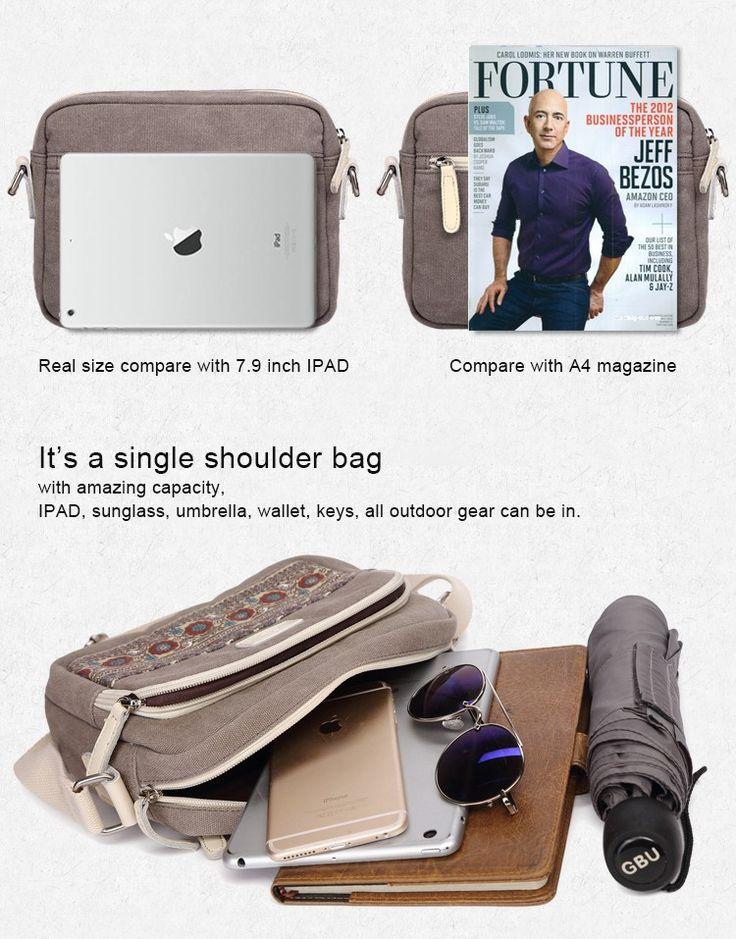 Canvasartisan estrenar retro ocio de la lona para los hombres y mujeres viajan bolsos crossbody solo bolso de hombro bolsa de mensajero en Bolsos Crossbody de Maletas y Bolsos en AliExpress.com   Alibaba Group