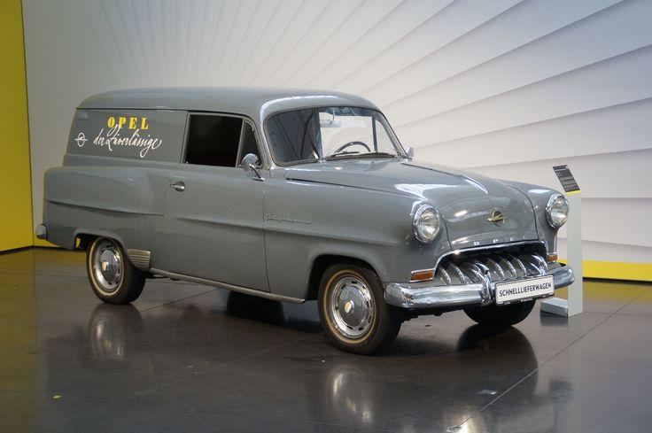 Opel Schnelllieferwagen von 1953 hatte schon 515 kg Nutzlast bei 40 PS und 1,5 Liter Motor