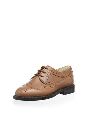 65% OFF Gallucci Kid's Lace Up Oxford (Cuoio)