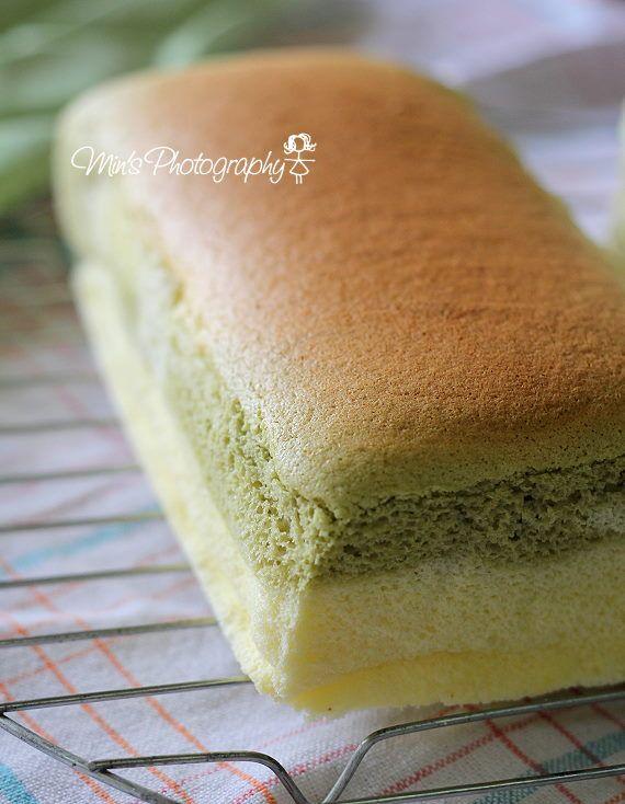 Green Tea Japanese Cheese Cake
