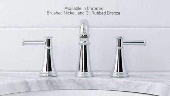 Moen Ts6984 Flara 1 2 Gpm Widespread Bathroom Faucet With Duralock