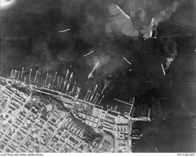 http://ift.tt/2wMsJjM of the British planned version of Pearl Harbour. Using only 22 Torpedo Biplanes from an aircraft carrier they managed to surprise an Italian Fleet docked and inflicted heavily casualties. It heavily influenced the Japanese attack on Pearl Harbor.